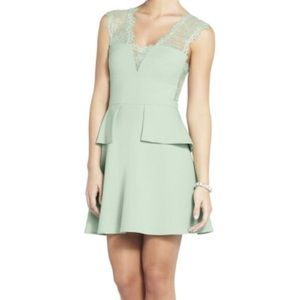 BCBGMaxAzria Peplum Dress